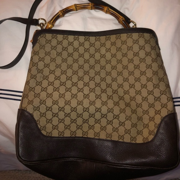 192da1a56896 Gucci Bags | Bamboo Handle Shoulder Crossbody Bag | Poshmark